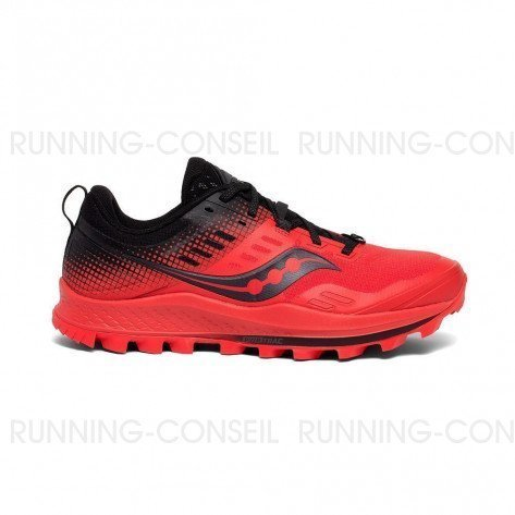 SAUCONY PEREGRINE 10 ST Homme Red | Black