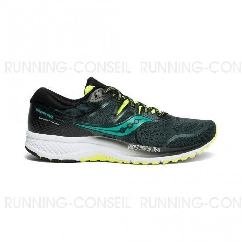 SAUCONY OMNI ISO Homme   Green / Teal