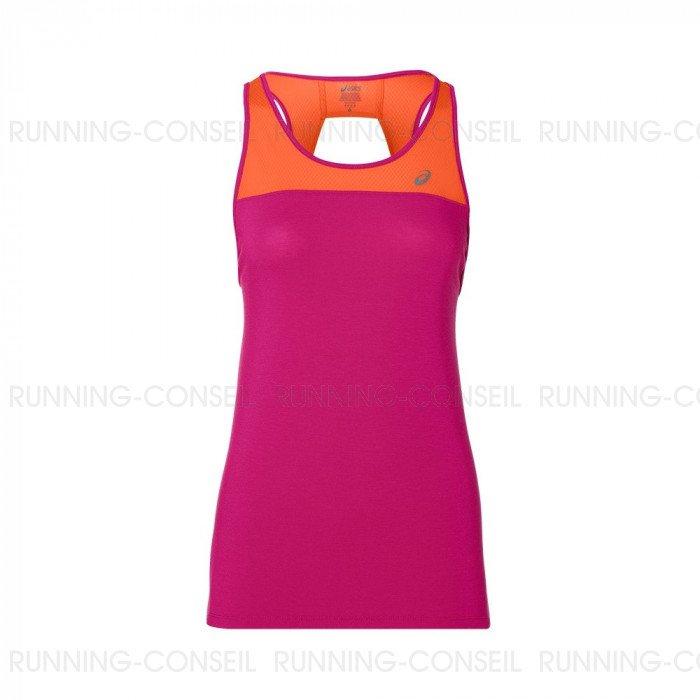 info pour 56ea2 d8a3c ASICS Débardeur LOOSE STRAPPY Femme   Pink   Collection ...