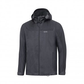 GORE® Veste à capuche R3 GORE-TEX Active Homme | Terra Grey/Black