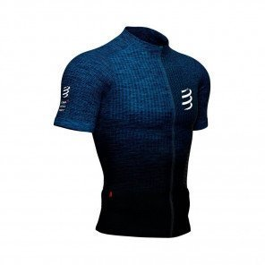 COMPRESSPORT Tee-shirt manche courte TRAIL POSTURAL Homme   Bleu mélange