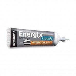 OVERSTIM'S ENERGIX LIQUIDE Caramel au beure salée (Boîte de 10 tubes)