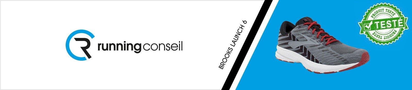 Test Brooks Launch 6 - Running Conseil